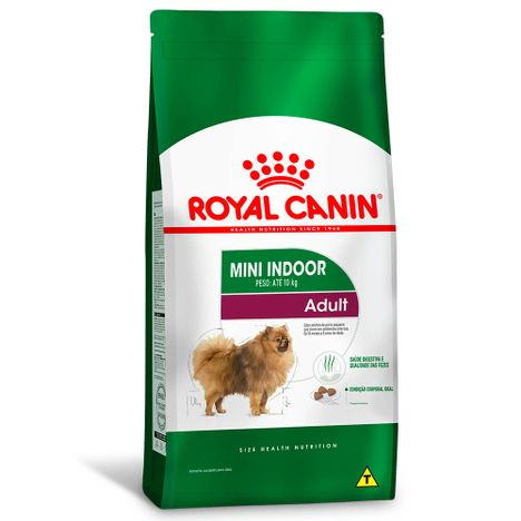 Ração Royal Canin Para Cães Adultos Mini Indoor 7,5 Kg