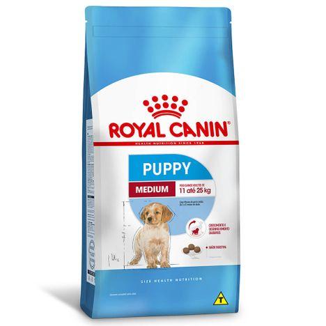 Ração Royal Canin Medium Para Cães Filhotes 15 Kg