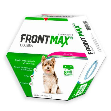Coleira Antiparasitas FrontMax Cães Até 4Kg