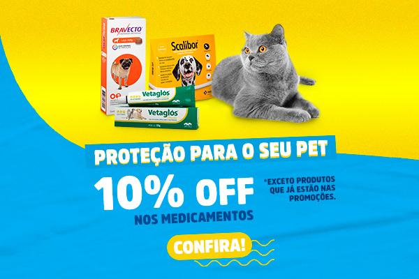 Banner Proteção para o seu Pet 10%
